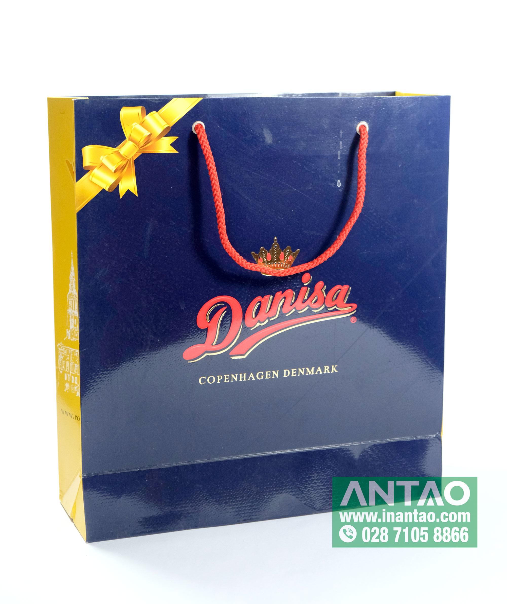 Túi giấy đựng bánh danisa